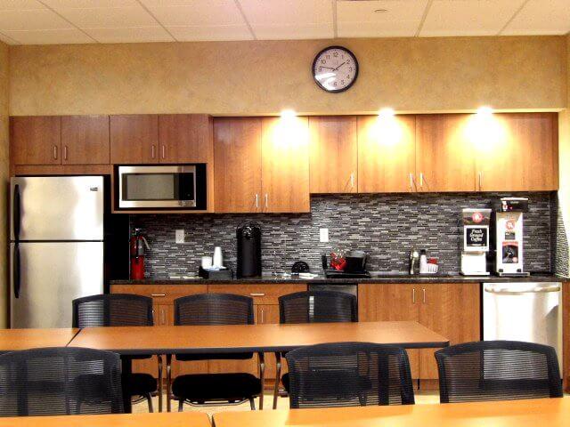 Training center kitchen
