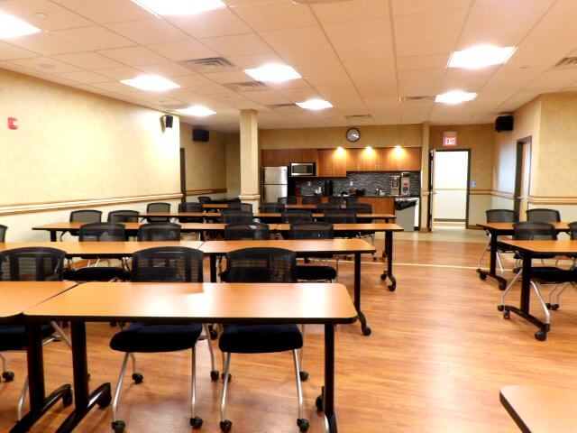 Training room center