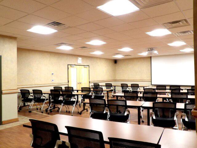 Meeting training room