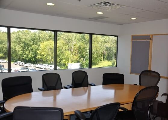 Parsippany office space conference room