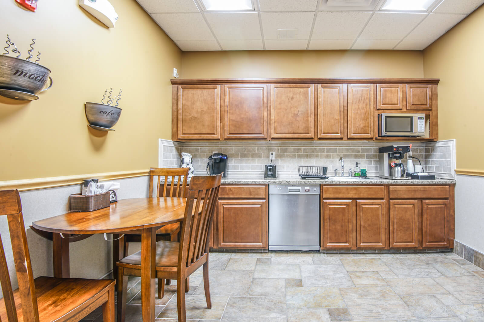 Montville shared kitchen