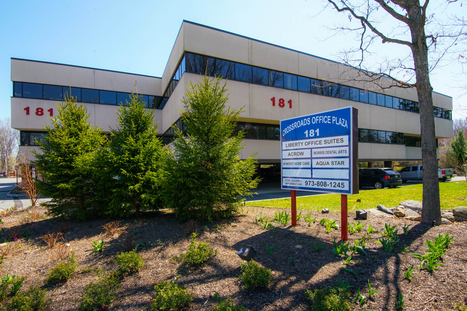 Parsippany office space exterior