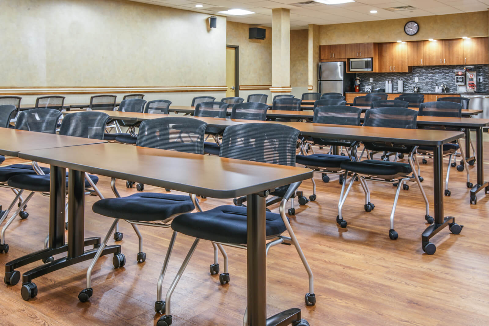 Training room rental options at Liberty Office Suites