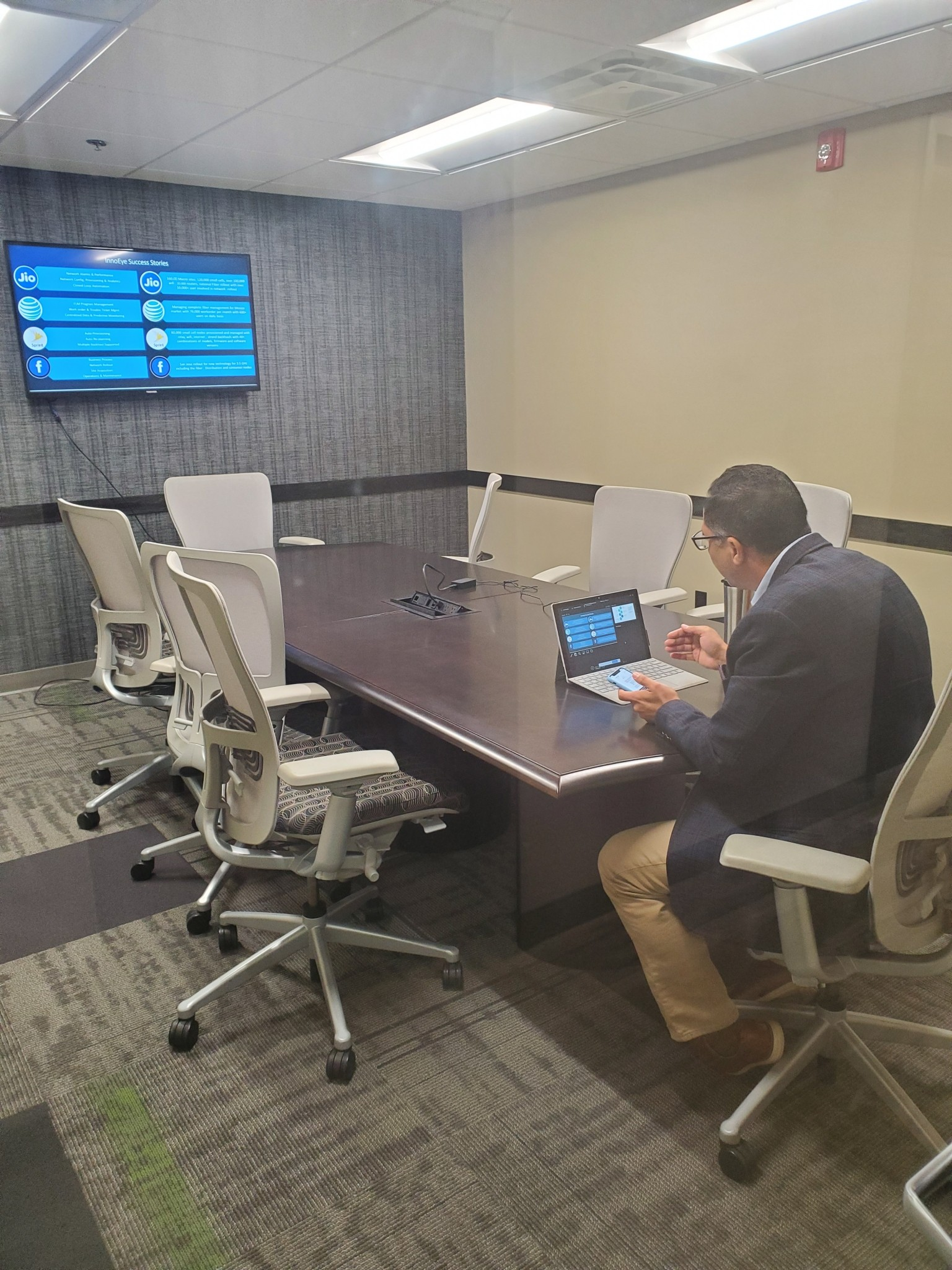Productivity thrives in coworking space